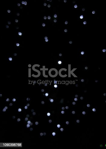 istock Defocused christmas colorful lights abstract background 1090398768