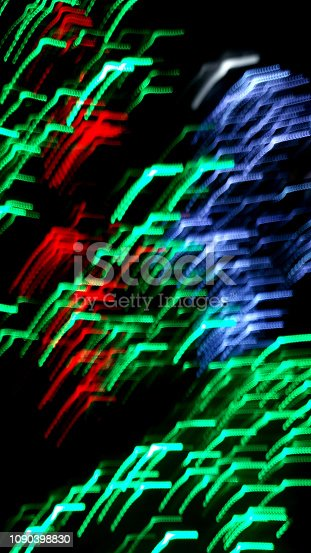 istock Defocused christmas colorful lights abstract background 1090398830