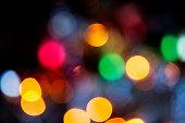 istock Defocused Christmas lights backgrounds 1016605202