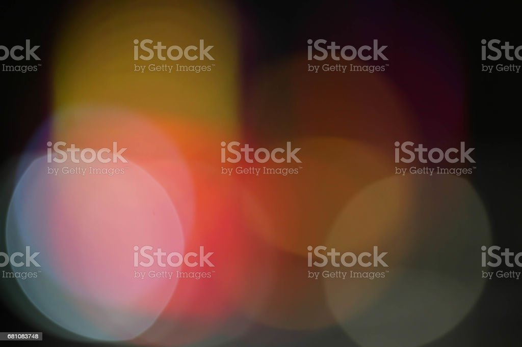 Defocused City lights royalty-free stock photo