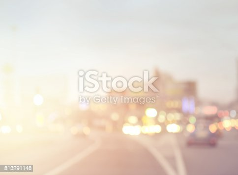 815778402 istock photo defocused city lights 813291148