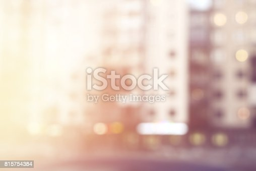 815778402 istock photo defocused city lights 815754384