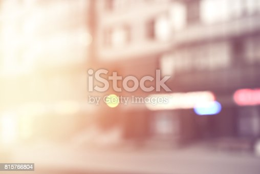 815778402 istock photo defocused city lights 815766804
