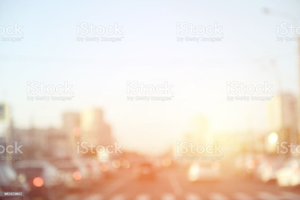 defocused city lights - Royalty-free Abstract Stock Photo