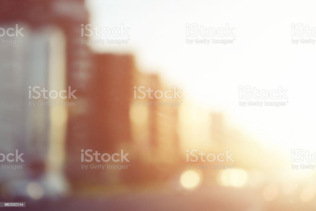 defocused luzes da cidade - Foto de stock de Abstrato royalty-free