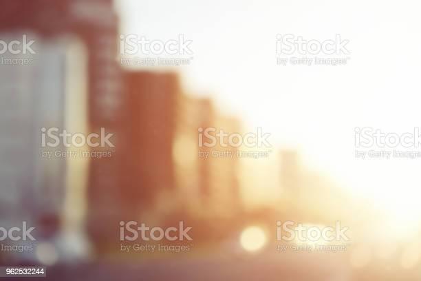 Foto de Defocused Luzes Da Cidade e mais fotos de stock de Abstrato