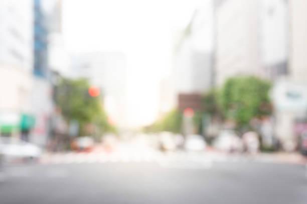 ciudad desenfocada - ciudad fotografías e imágenes de stock