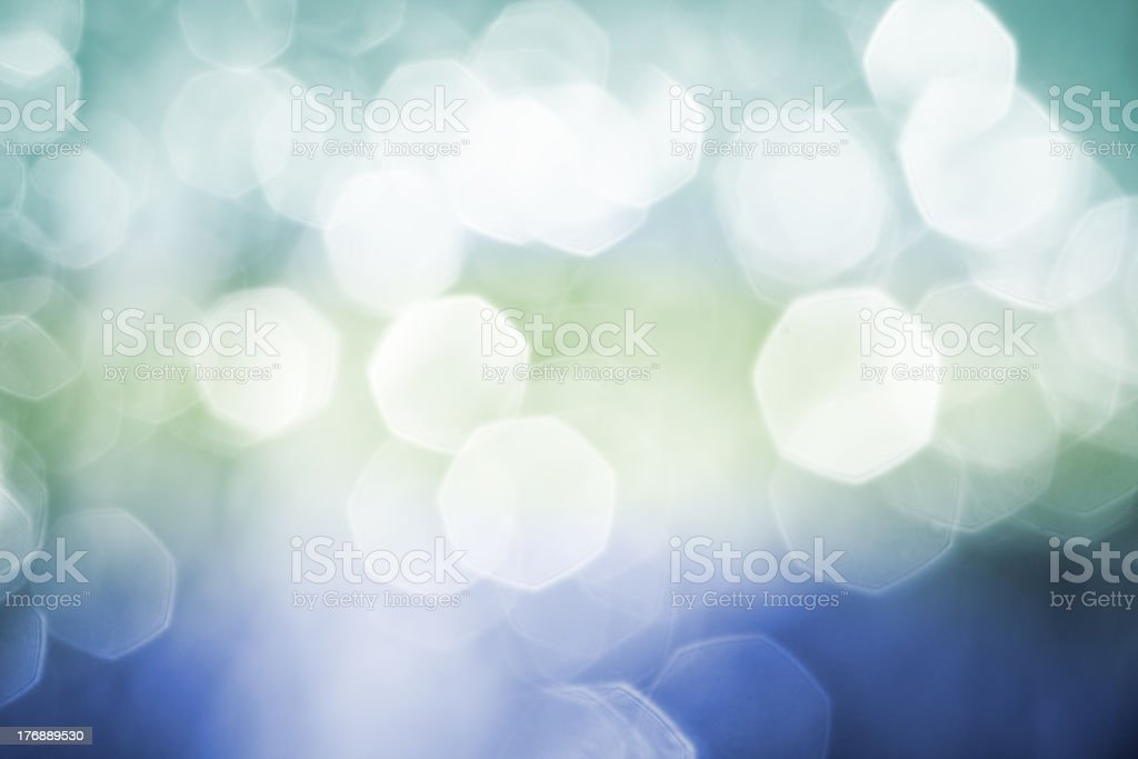 Defocused color abstract christmas background stock photo