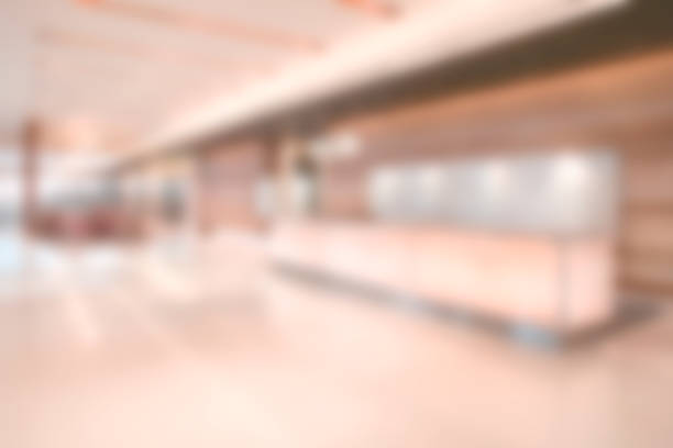 Defokussierten Geschäftshaus Lobby - Business-Hintergrundbild – Foto