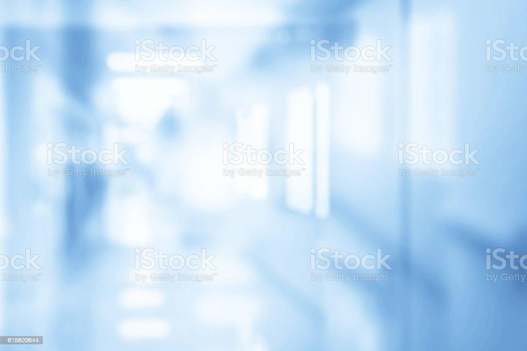 Defocused Corridor stock photo