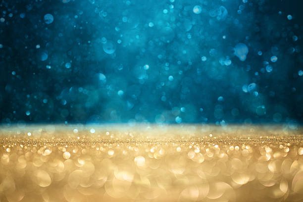 Defocused glitter background stock photo