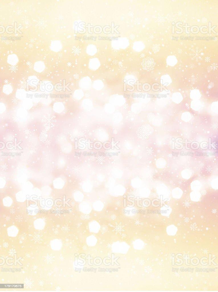 Defocused gold Bokeh  like champagne splashes. Christmas royalty-free stock photo