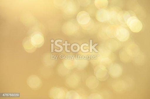 istock Defocused Gold Sparkles 475753220