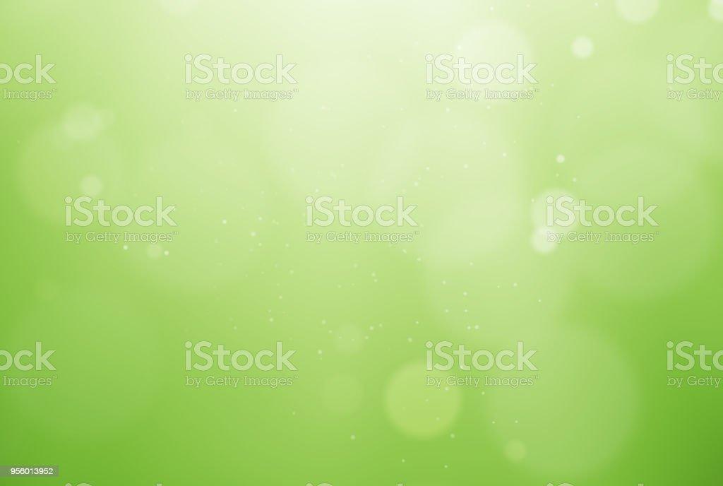 De-focused green background stock photo