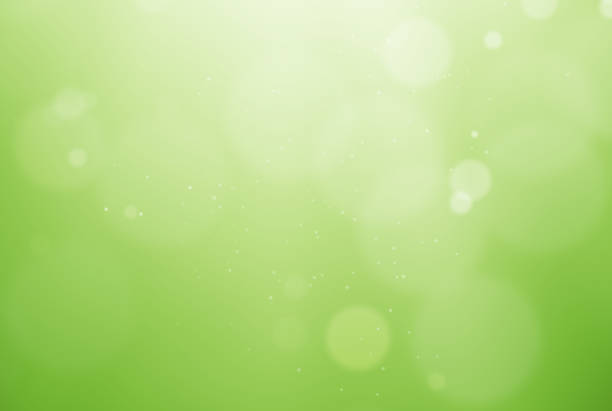 De-focused green background stock photo