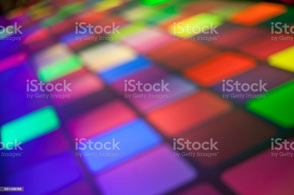 Rejilla de luces de fondo Desenfocado - foto de stock
