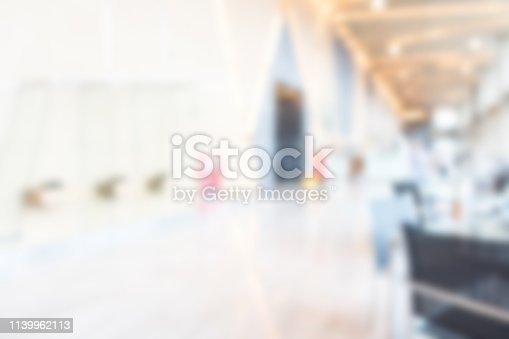 istock Defocused hospital abstract texture background for your design 1139962113