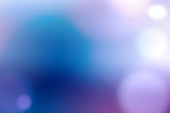 Defocused Lights Abstract Background Blue Purple