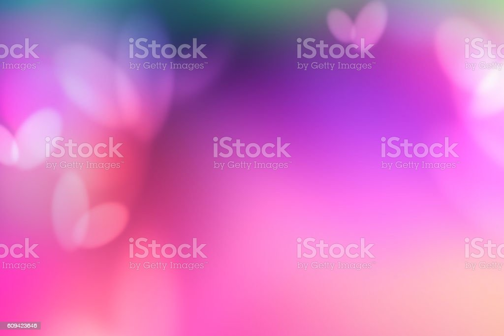 Defocused Lights Abstract Background Fusia Pink stock photo
