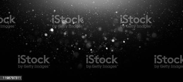 Defocused Lights Abstract Background Stock Photo - Download Image Now