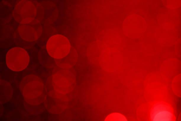 lumières en arrière-plan flou (rouge - fond rouge photos et images de collection
