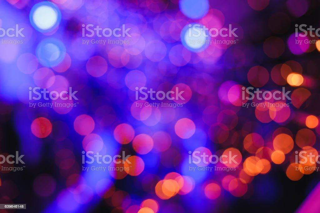 Nieostry światła tło  - Zbiór zdjęć royalty-free (Abstrakcja)