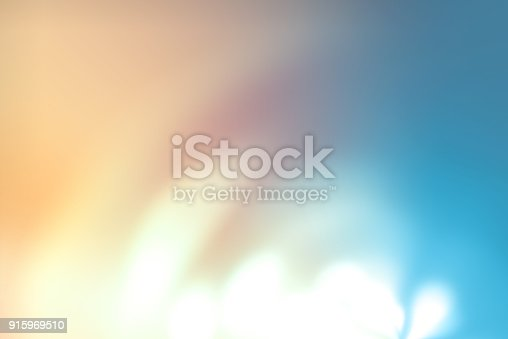 istock Defocused Lights Background with Bokeh 915969510