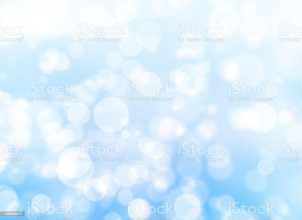 Defocused lights Blurred blue sparkles royalty-free stock photo