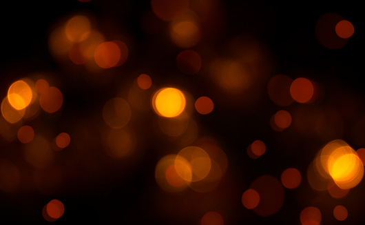 Red and golden lights