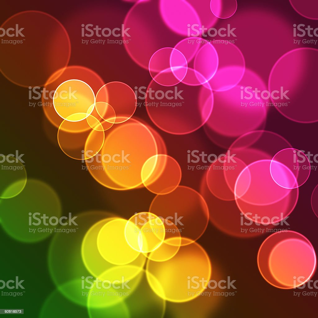 Defocused lights  Abstract Stock Photo