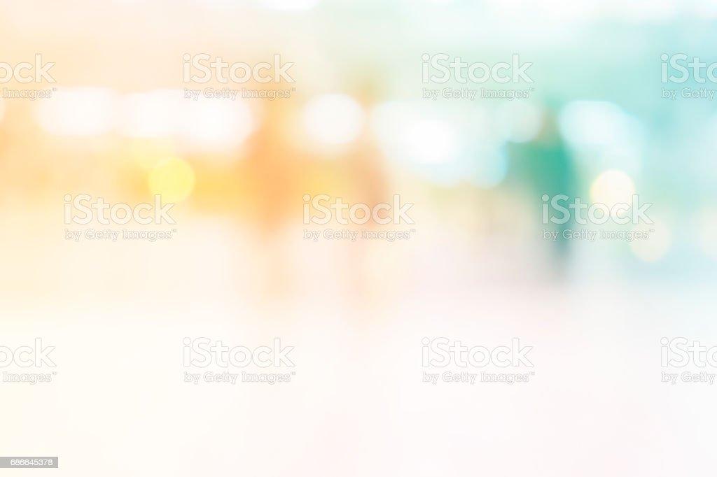 defokussierten Lichter mit weißen Weichzeichnen abstrakten Hintergrund Lizenzfreies stock-foto