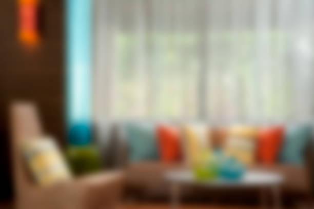 Defokussierten modernen Wohnzimmer Sofa und Sessel - Hintergrundbild – Foto