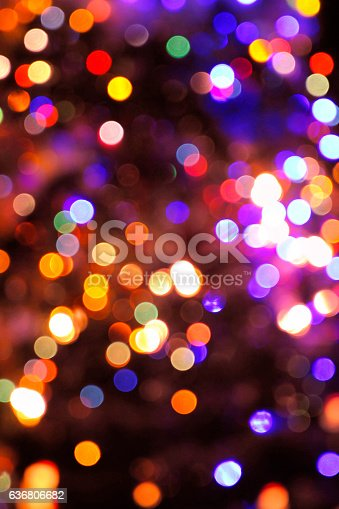 617566268 istock photo Defocused Multi Colored Lights 636806682