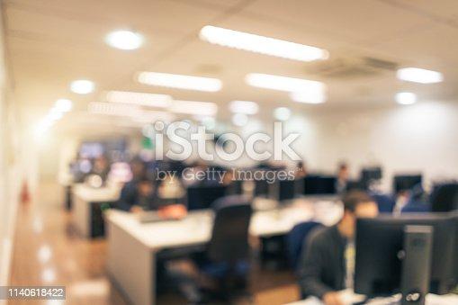istock Defocused Office Background 1140618422