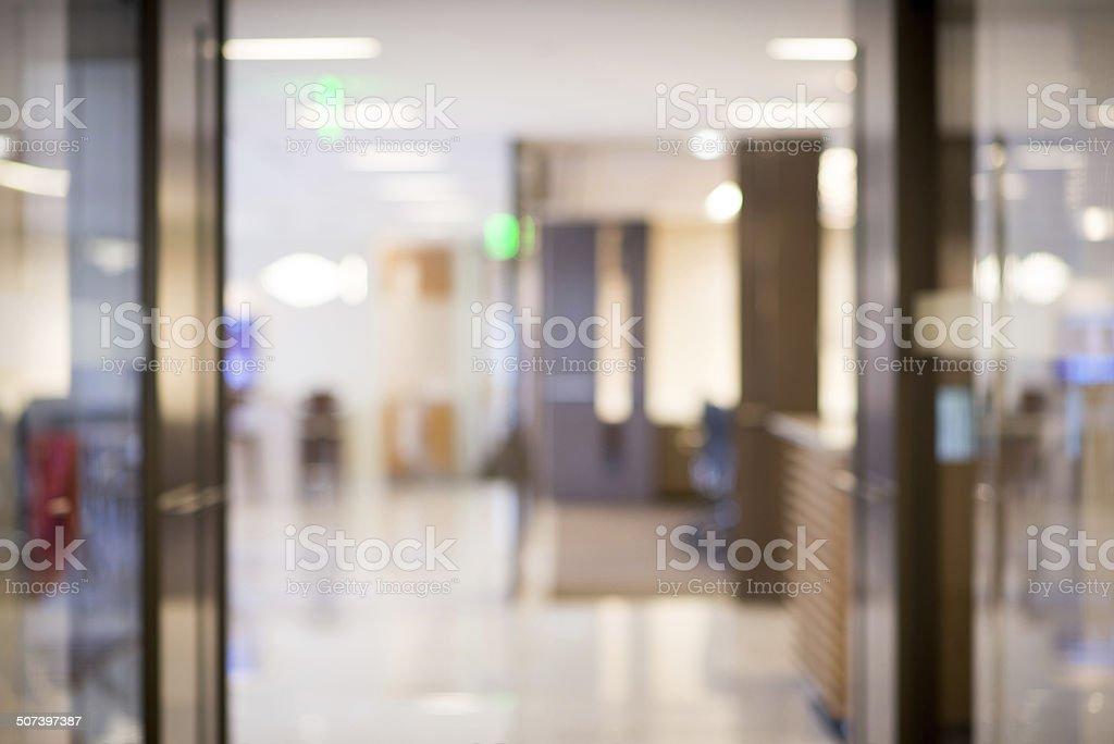 Hintergrund unscharf Büro – Foto