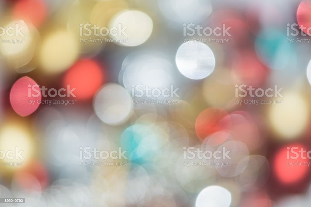 Defocused red and yellow boker background stock photo