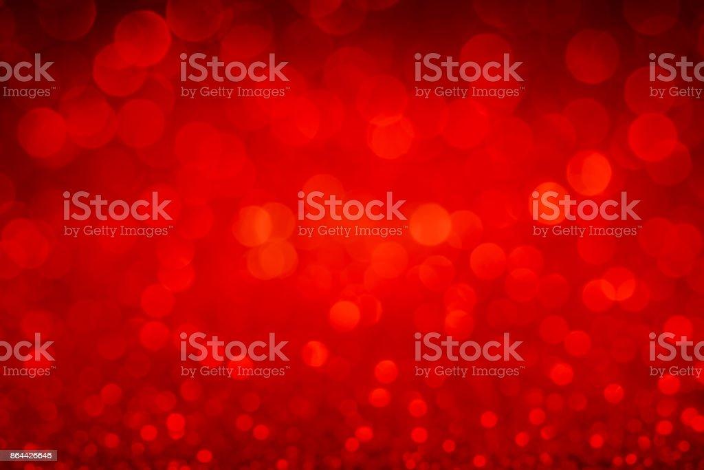 Defokussierten rot Glitter-Hintergrund – Foto