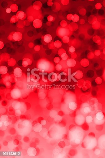 istock Defocused red lights and glitter 951153612