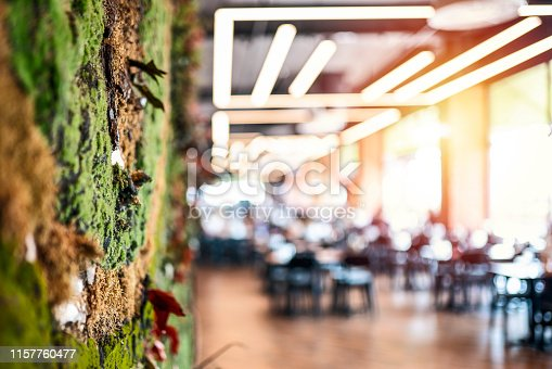 istock Defocused restaurant background 1157760477