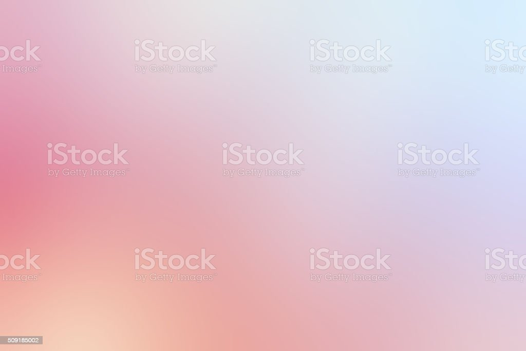 Defocused Serenity Blurred Blue Rose Quartz Pink Abstract Background stock photo