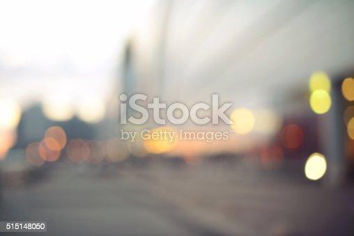 defocused store bokeh background, Blurred Motion City Lights