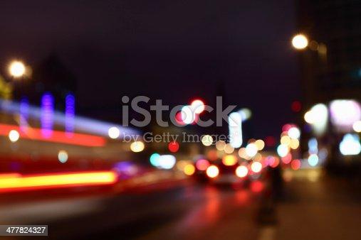 603907998 istock photo Defocused Street Lights 477824327