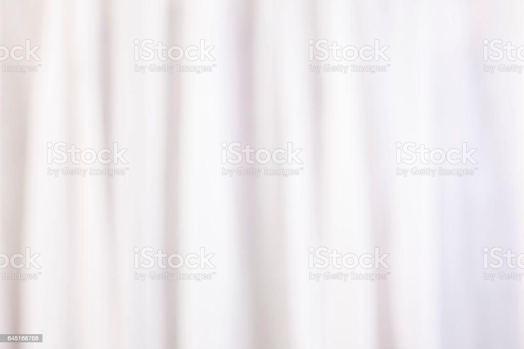 Defokussierten weiße Gardinen für Hintergrund. – Foto