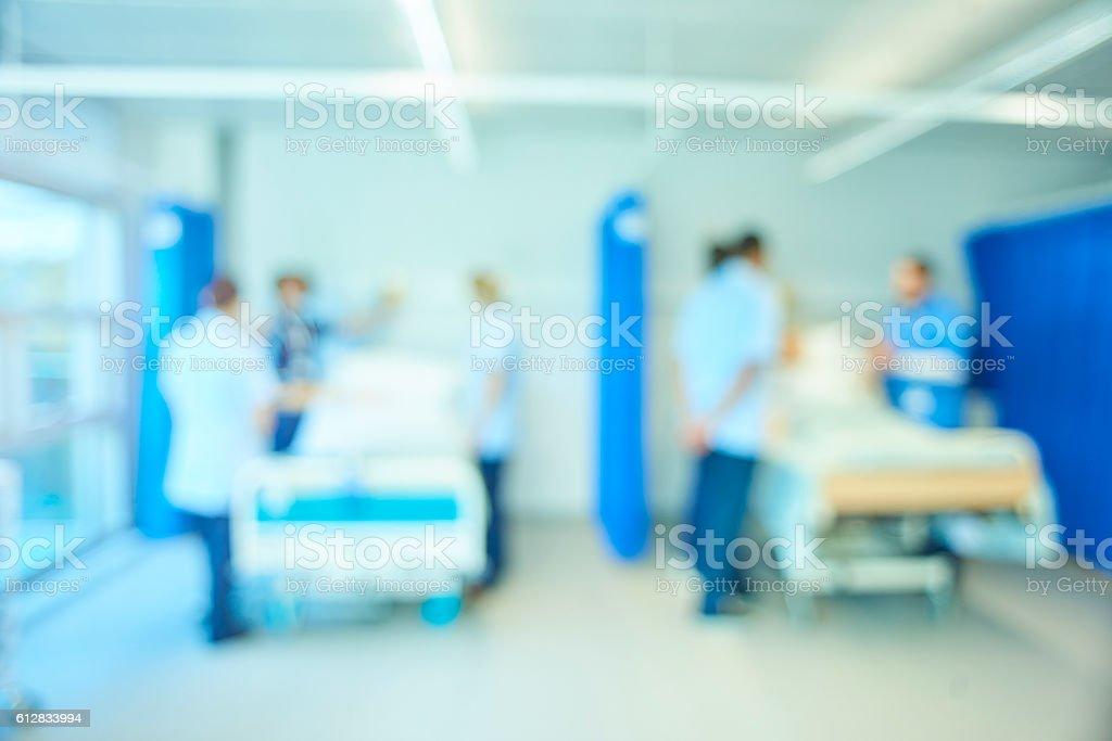 A senior female nursing sister demonstrates the the various equipment...