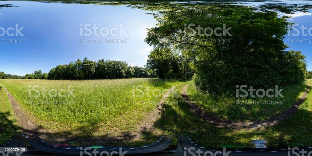 360-Grad-Kugel-Landschaft – Foto