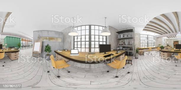 Degree vr of large modern office interior picture id1207801277?b=1&k=6&m=1207801277&s=612x612&h=nyirogub041ikcyyu7kwphdgfh7jox9gyteb9bcvv0s=