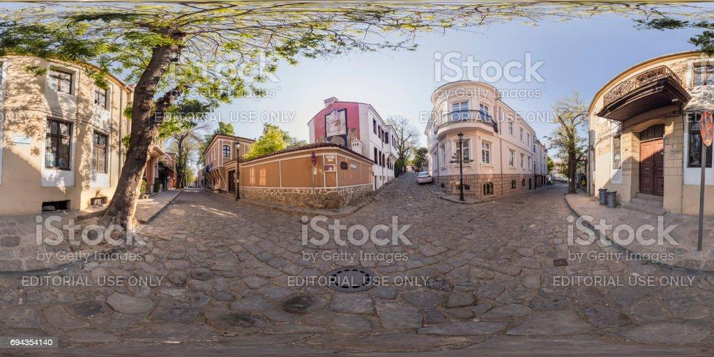 panorama de 360 degrés d'Art Galerie La Bohème à Plovdiv, Bulgarie - Photo