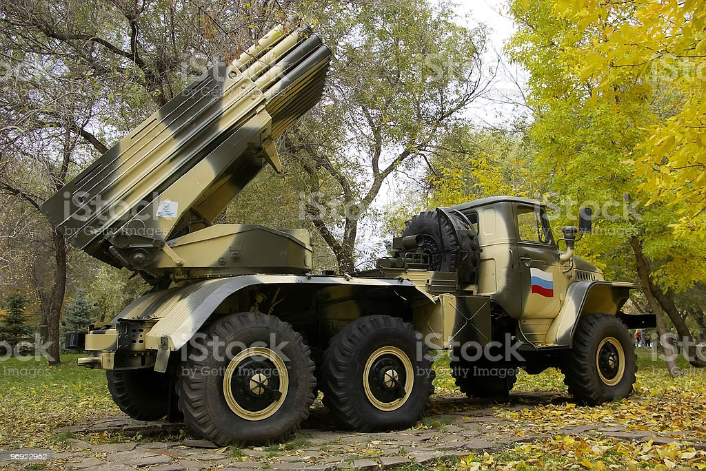 BM-21 'Grad'. royalty-free stock photo