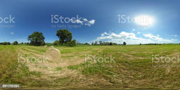 Degrees spherical panorama of beautiful green meadow with straw bales picture id691235494?b=1&k=6&m=691235494&s=612x612&h=8td0egmoukje2hmbxqzckm5iurspd plzfnmfgoleiy=