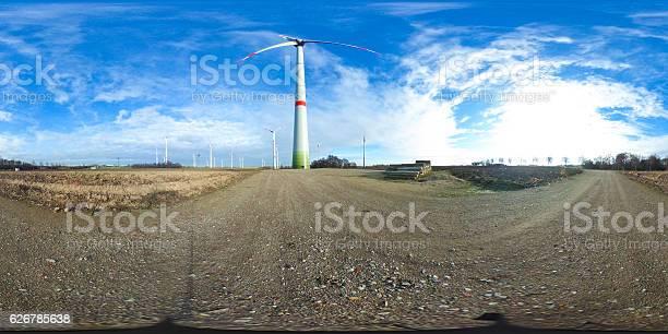 Degrees spherical panorama of wind turbines picture id626785638?b=1&k=6&m=626785638&s=612x612&h=rlcb3kd 9afvzbtigexiy0x kfyo kuilutzbzo5nke=